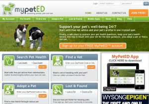 MyPetED.com web-SEO content, written by PetCopywriter.com's Pam Foster