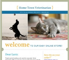 Pet Copywriter Email Sample