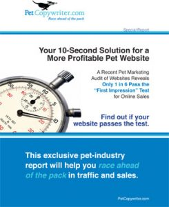 Special Report on Pet Website Success