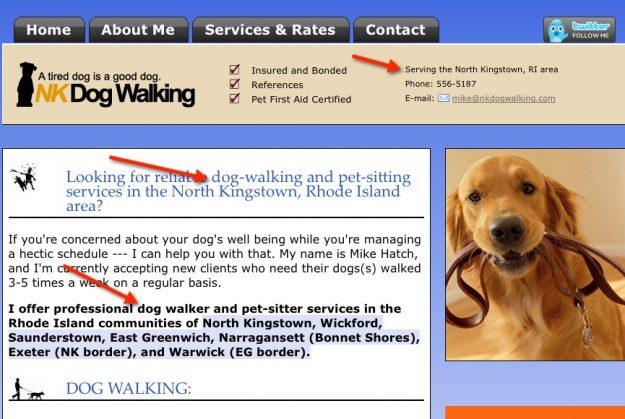 Pet business marketing petcopywriter dog walker kingston ri local pet business web content solutioingenieria Image collections